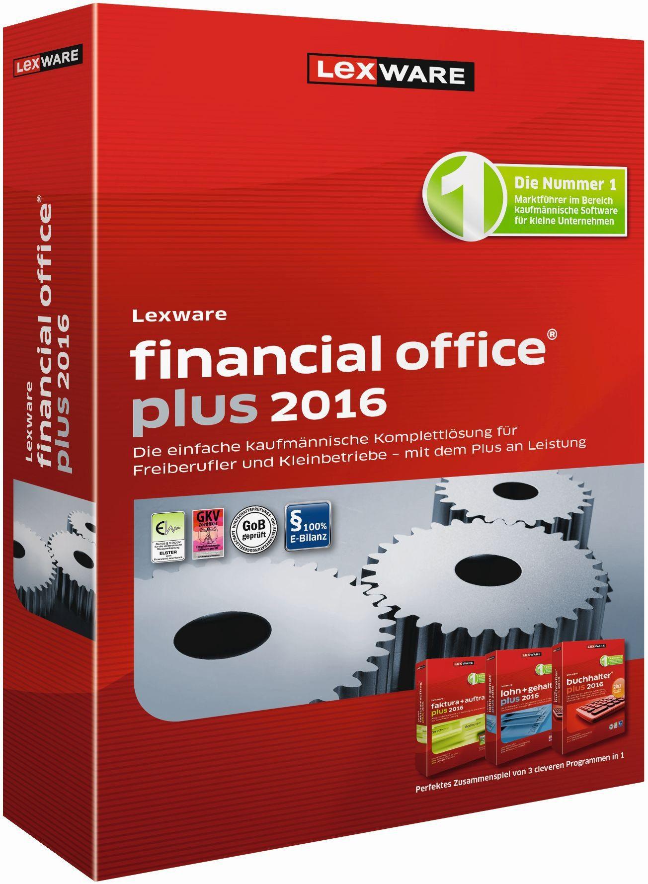 Lexware Kaufmännische Komplettlösung »financial office plus 2016«