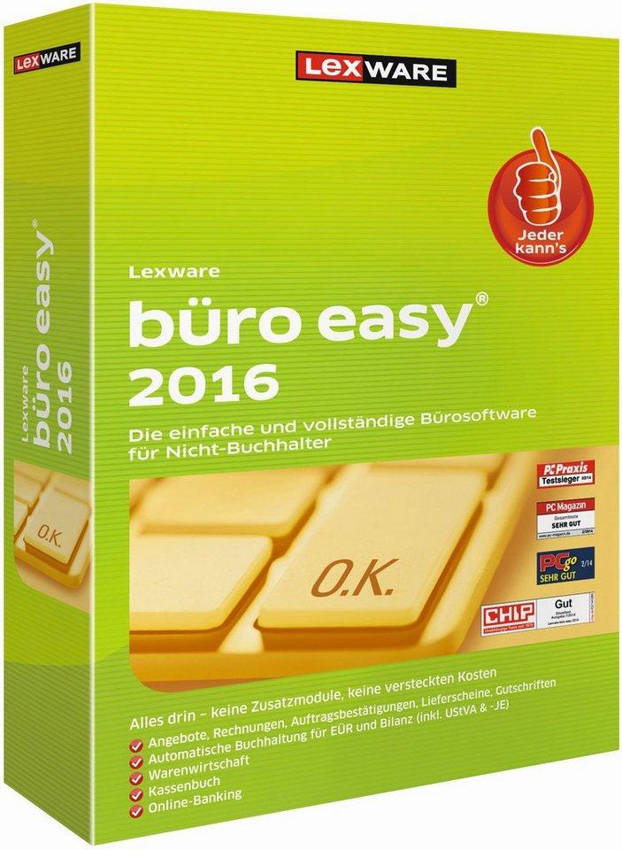 Lexware Kaufmännische Komplettlösung »büro easy 2016«