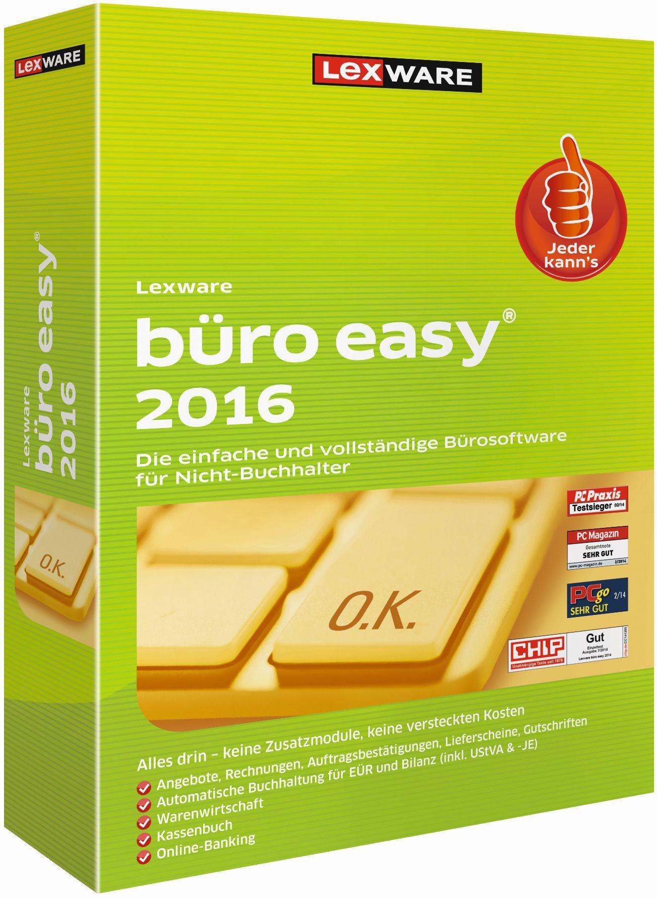 Lexware Kaufmännische Komplettlösung »büro easy 2016 Minibox«