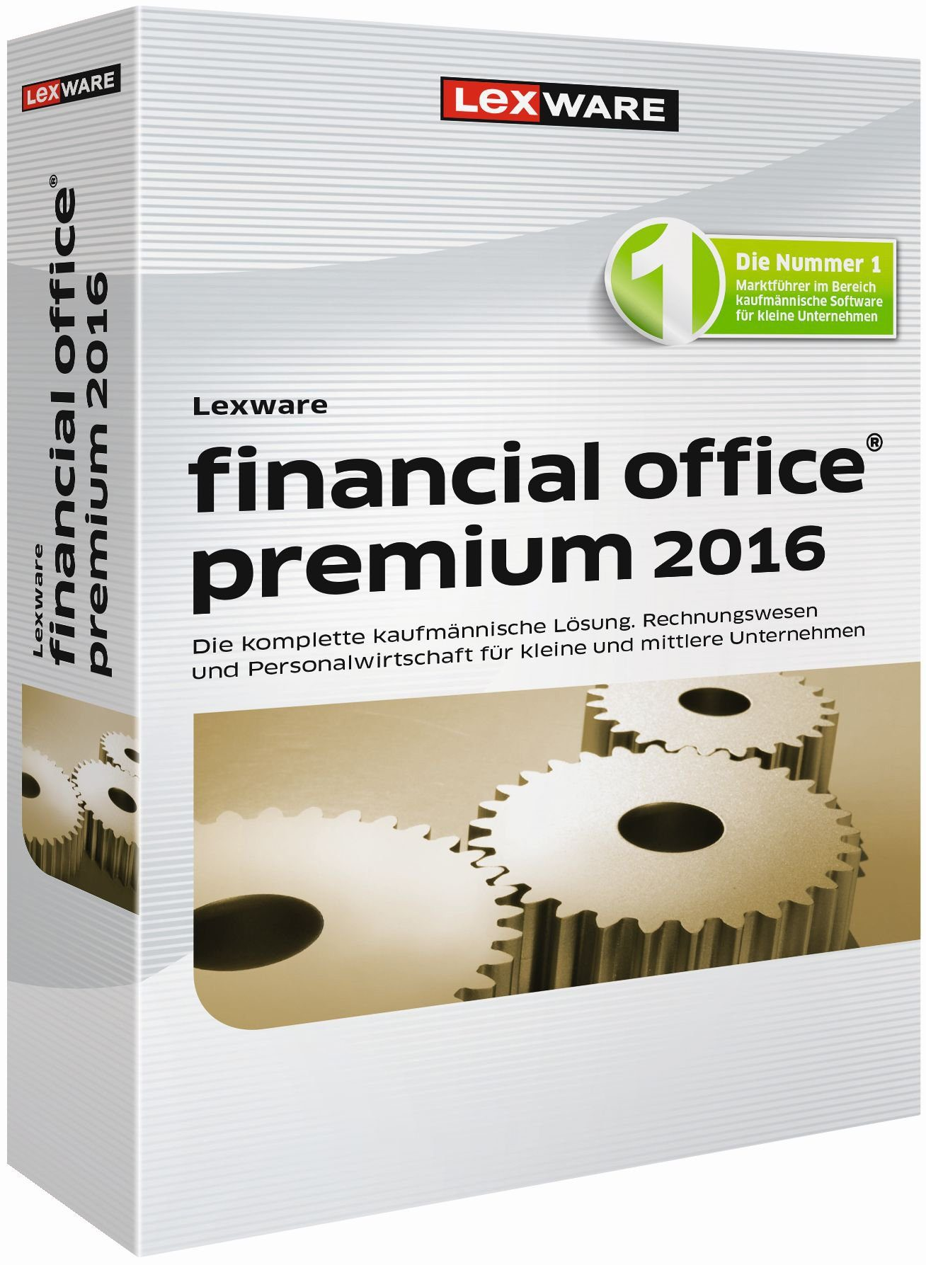 Lexware Kaufmännische Komplettlösung »financial office premium 2016«