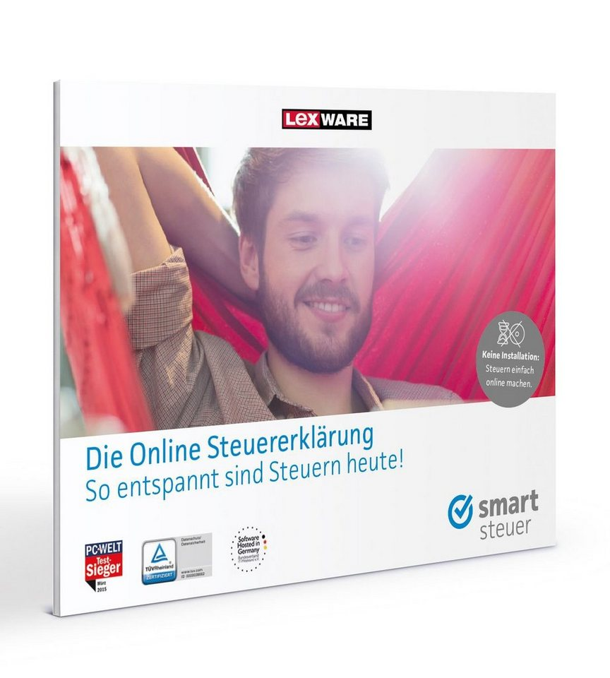 Lexware Finanzen/Steuer »smartsteuer 2016 Frustfreie Verpackung«