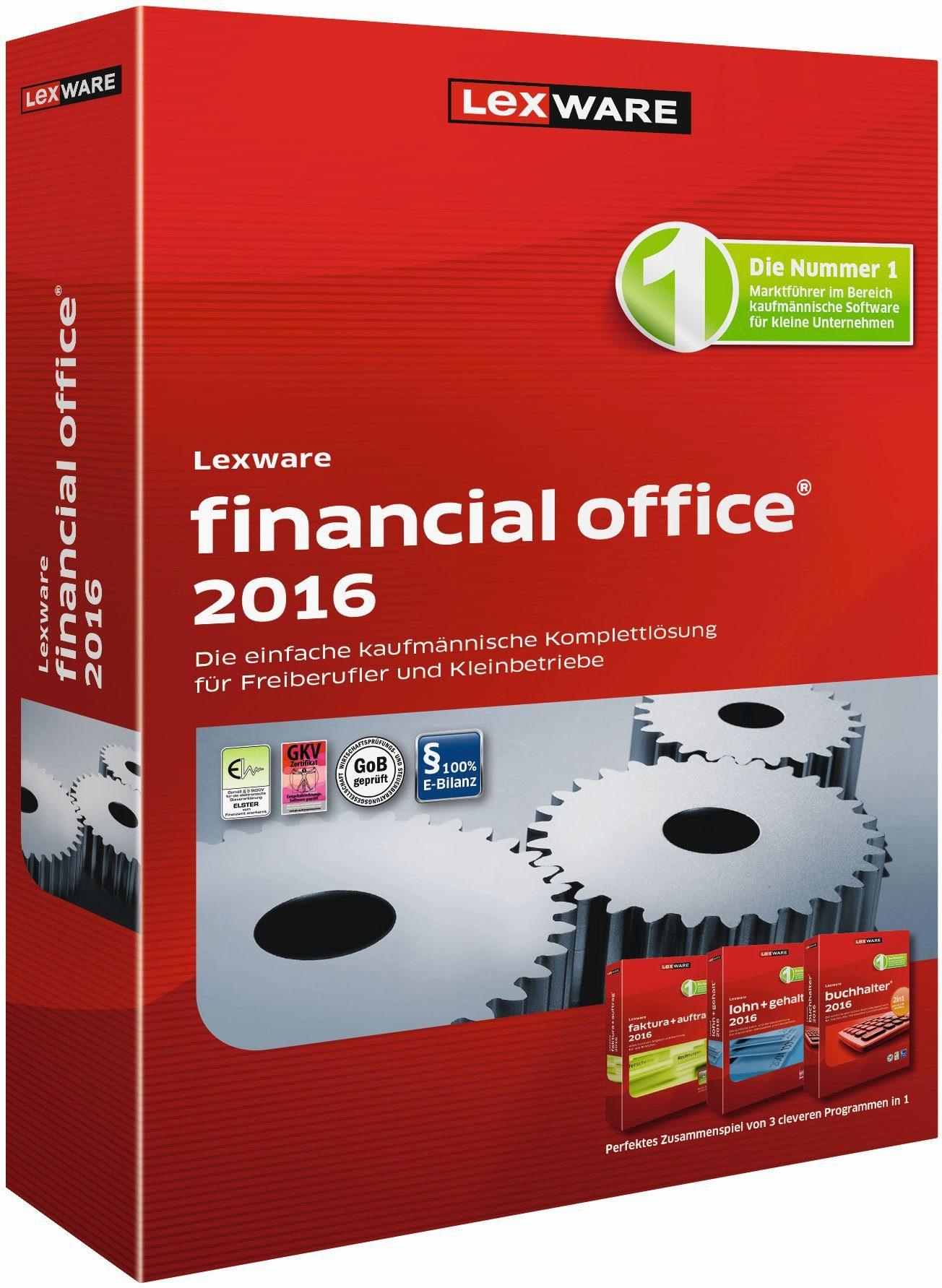 Lexware Kaufmännische Komplettlösung »financial office 2016«