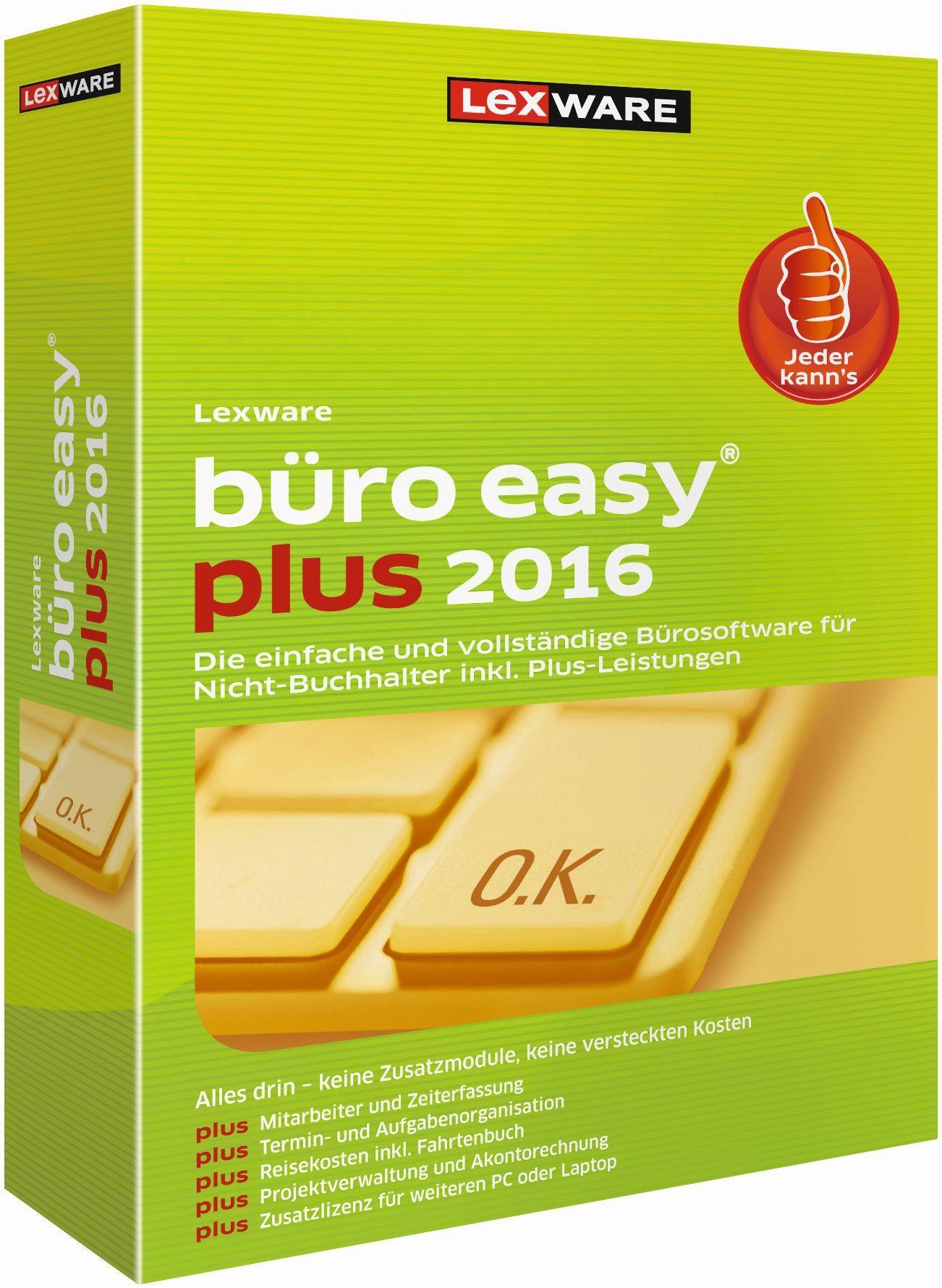 Lexware Kaufmännische Komplettlösung »büro easy plus 2016«