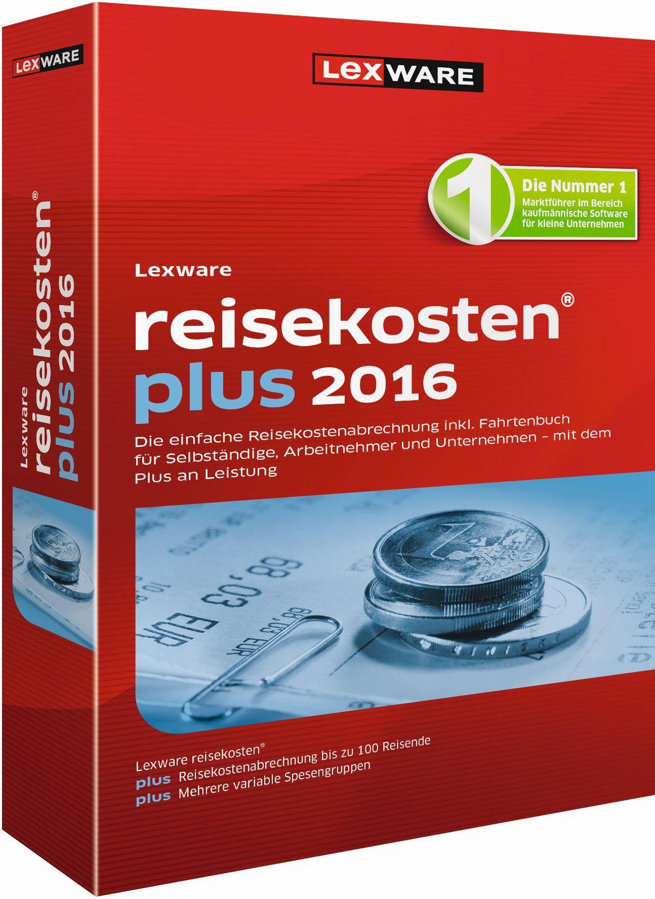 Lexware Kaufmännische Einzellösung »reisekosten plus 2016«