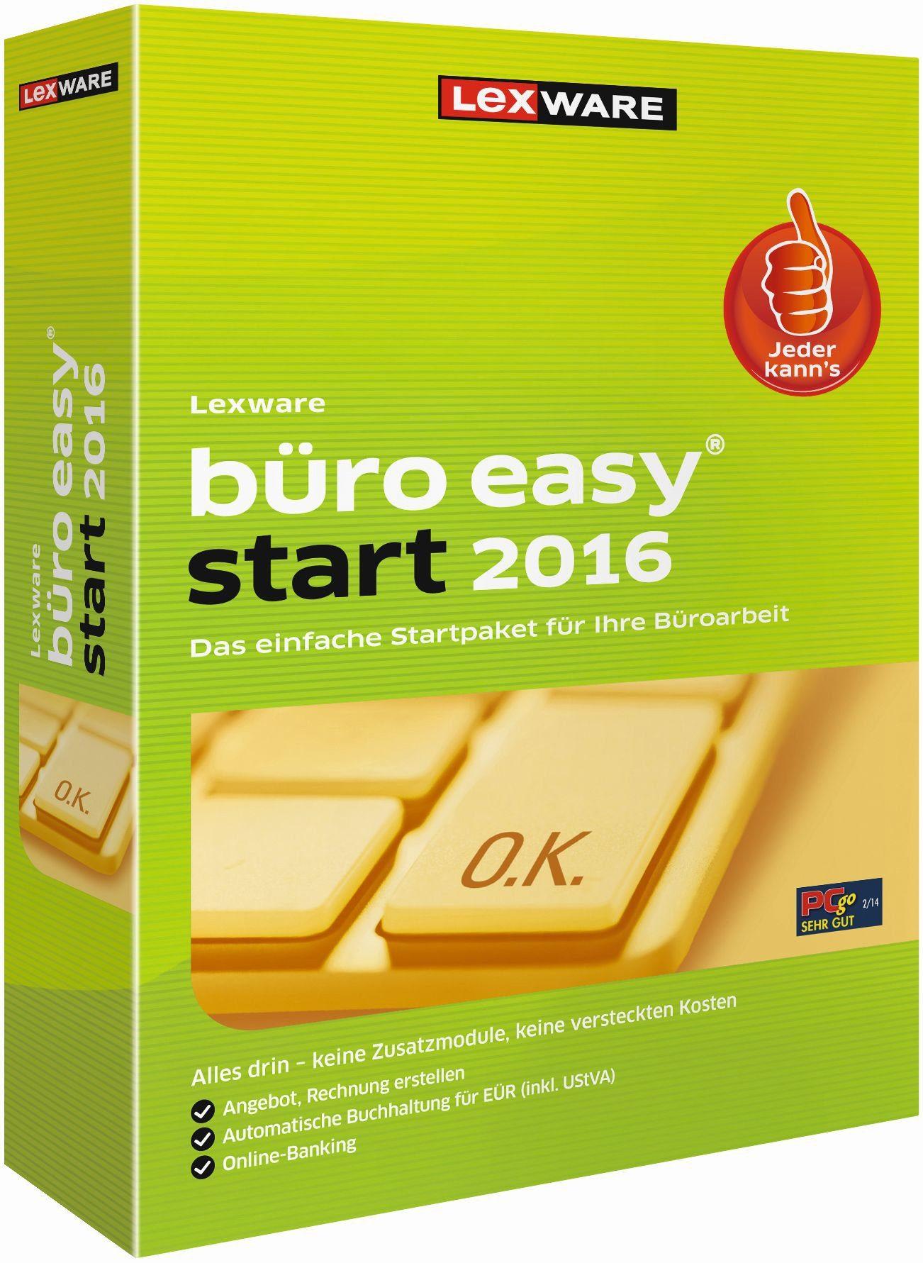 Lexware Kaufmännische Komplettlösung »büro easy start 2016«