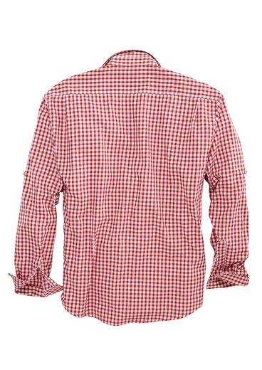 Trachtenhemd Herren mit Brusttasche, OS-Trachten
