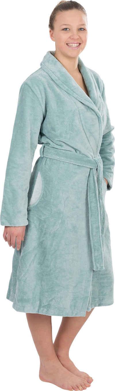 Damenbademantel »4021«, Wewo fashion, mit Soft Touch