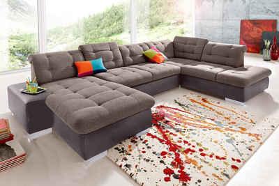 Polstermöbel u-form  XXL Wohnlandschaft kaufen » Sofa in U-Form | OTTO