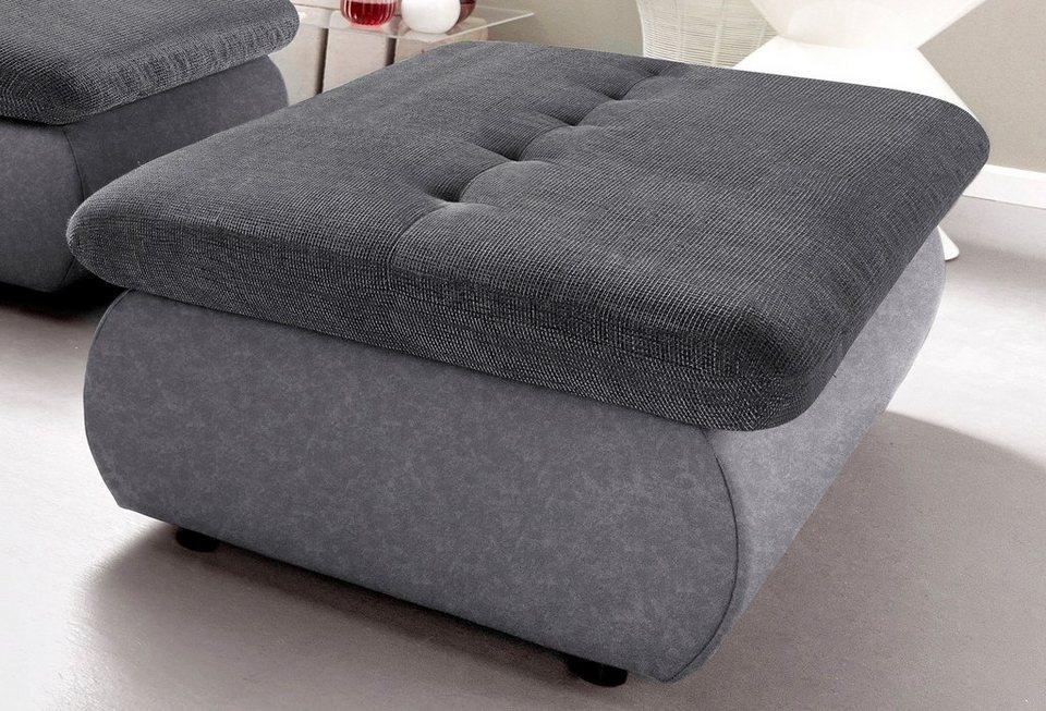 trendmanufaktur hocker mit stauraumfach kaufen otto. Black Bedroom Furniture Sets. Home Design Ideas