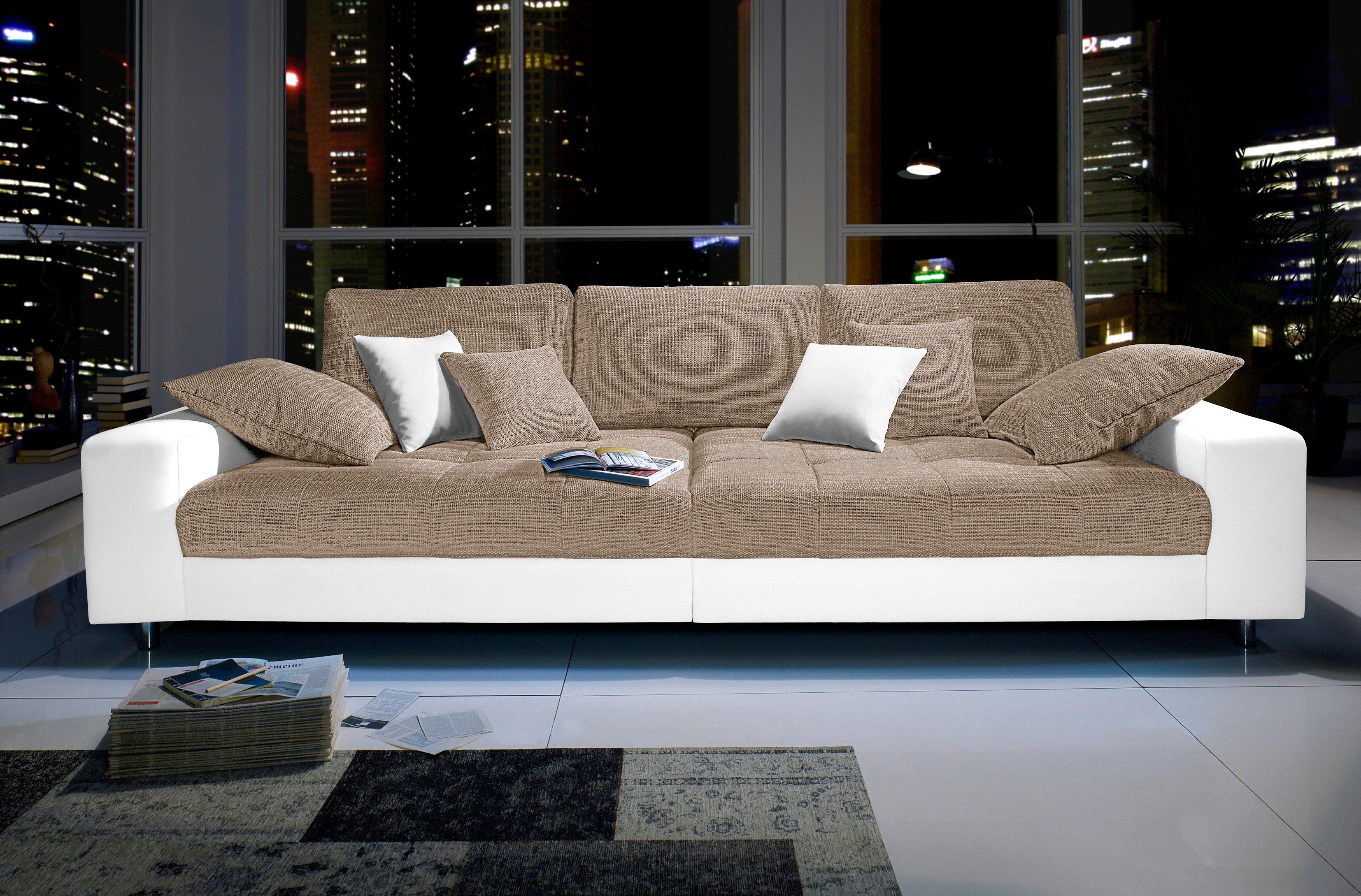 Big Sofa Federkern ~ Big sofa wahlweise mit rgb led beleuchtung kaufen otto