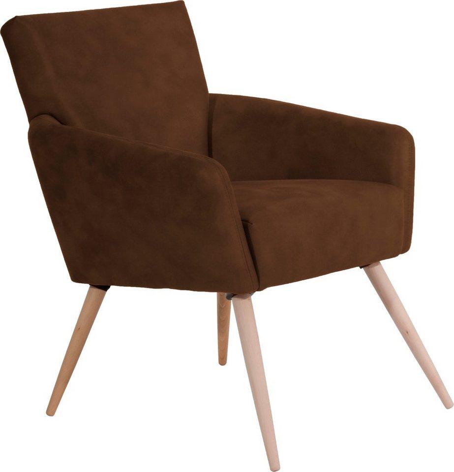 Max Winzer® Stuhlsessel »Jonas«, im Scandinavian Design in sahara