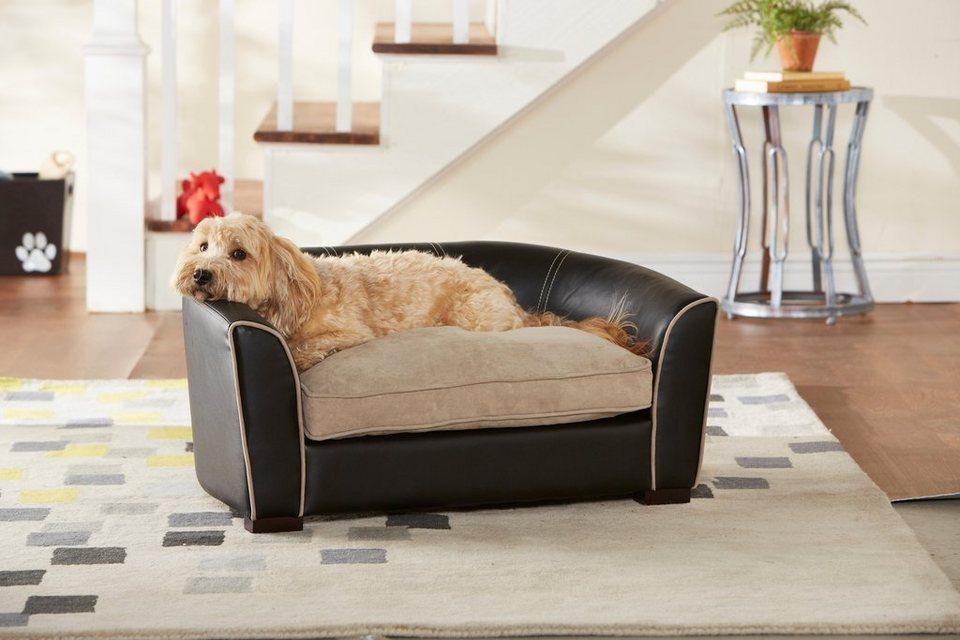 Home affaire Hundebett »Remy Black« in schwarz