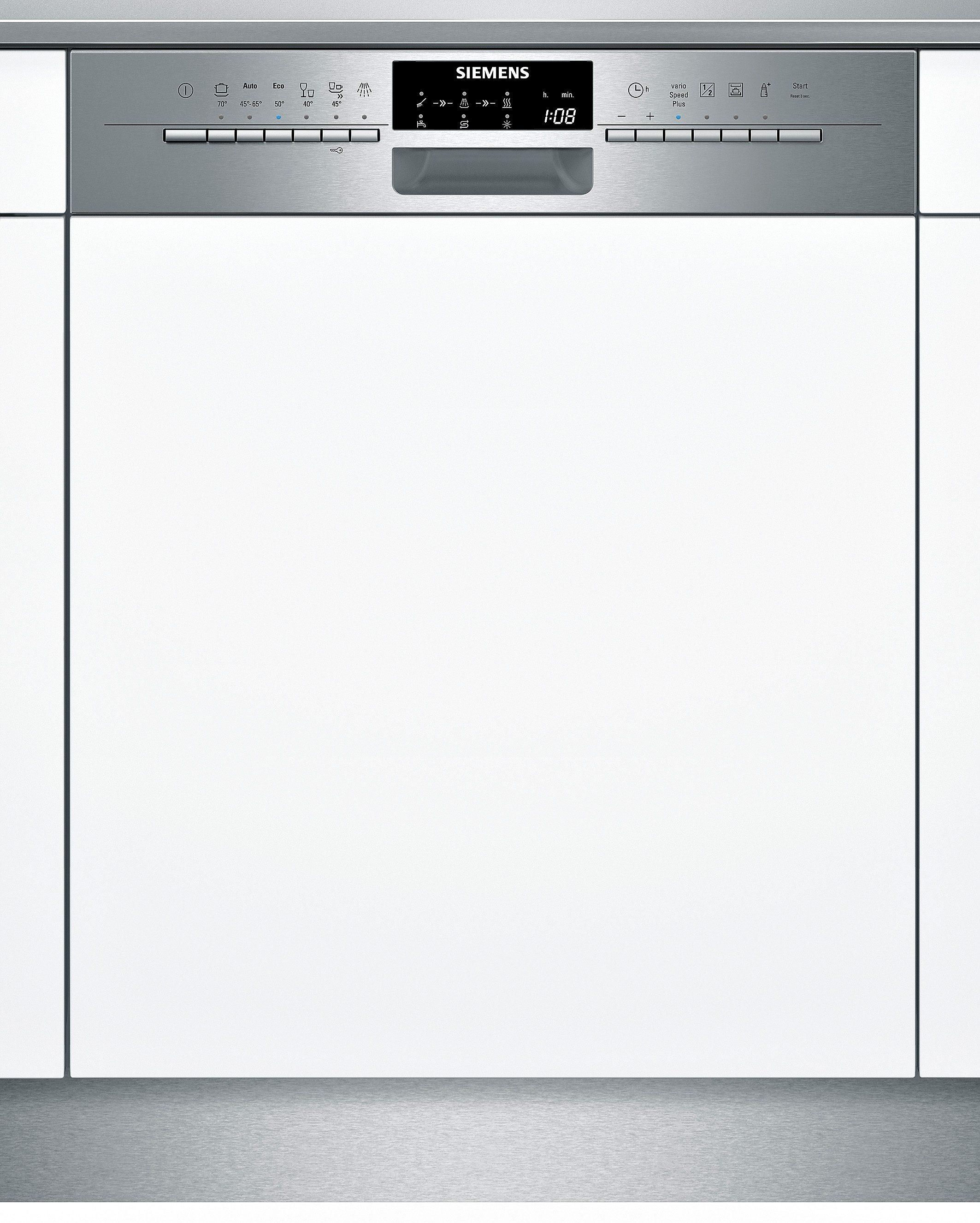 Siemens integrierbarer Einbau-Geschirrspüler SN56P591EU, Energieklasse A++, 9,5 Liter, 14 Maßgedecke