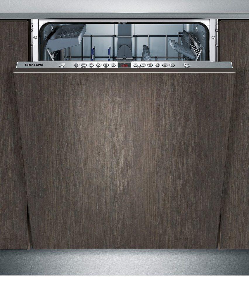 Siemens vollintegrierbarer Einbaugeschirrspüler SN66P056EU, Energieklasse A++, 9,5 Liter