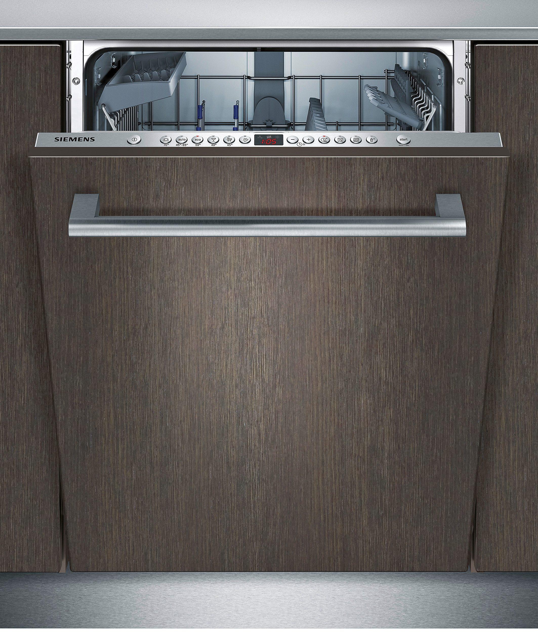 Siemens vollintegrierbarer Einbau-Geschirrspüler SX66P056EU, Energieklasse A++, 9,5 Liter