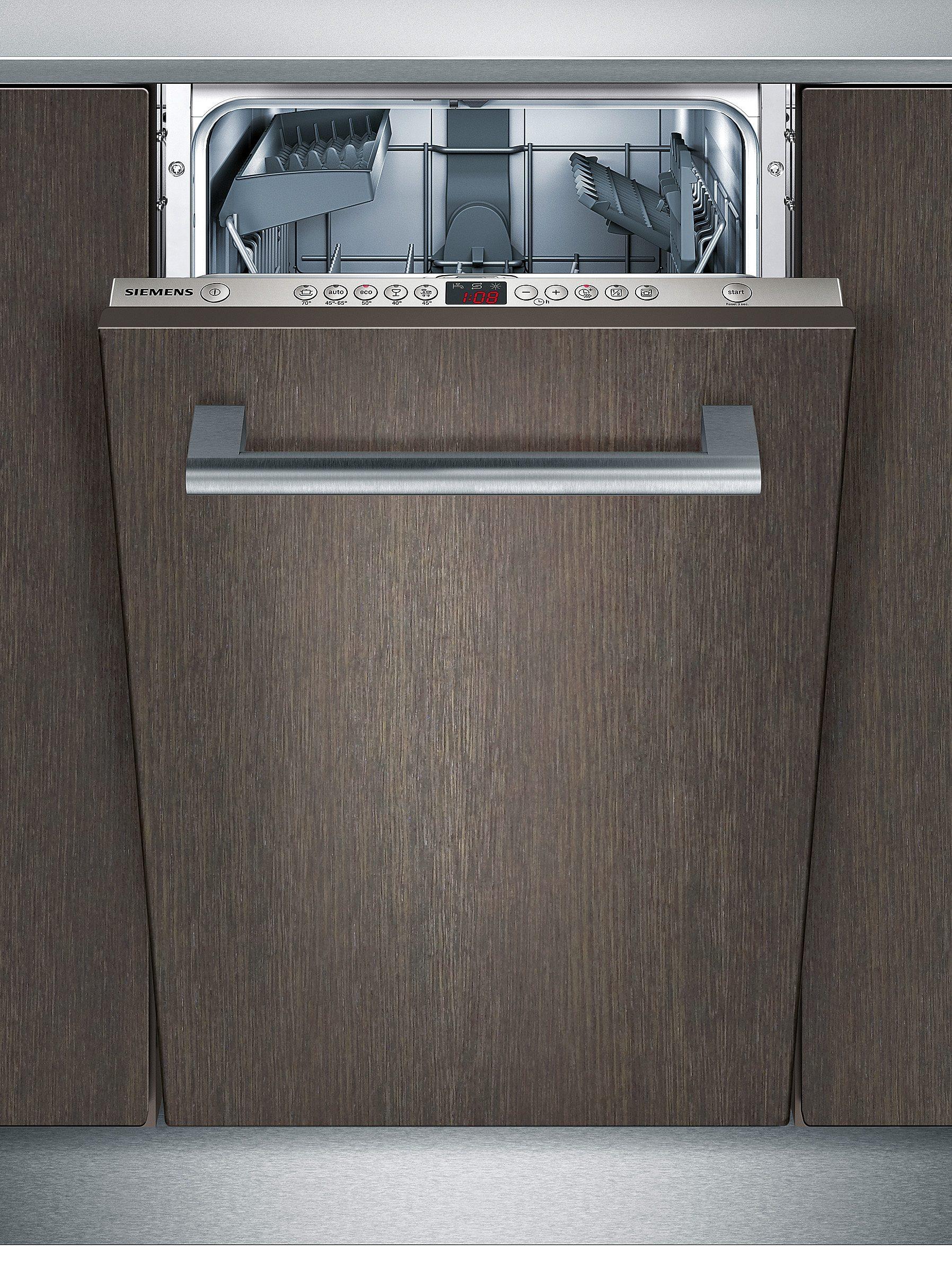 Siemens vollintegrierbarer Einbau-Geschirrspüler SR65M036EU, Energieklasse A+, 8,5 Liter