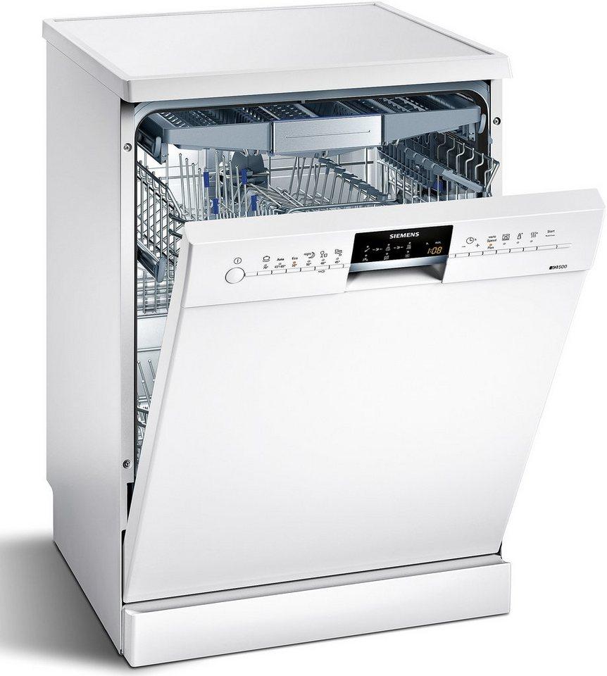 Siemens Geschirrspüler SN26P296EU, Energieklasse A++, 6,5 Liter, 13 Maßgedecke in weiß