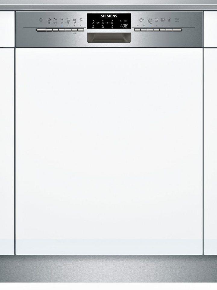 Siemens integrierbarer Einbau-Geschirrspüler SX56P591EU, Energieklasse A++, 9,5 Liter in edelstahl