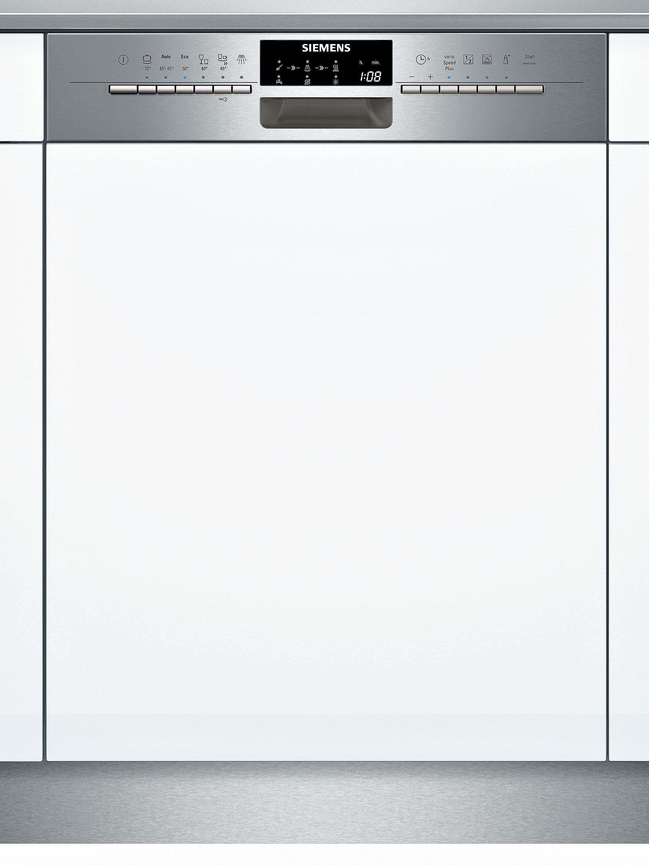 Siemens integrierbarer Einbau-Geschirrspüler SX56P591EU, Energieklasse A++, 9,5 Liter
