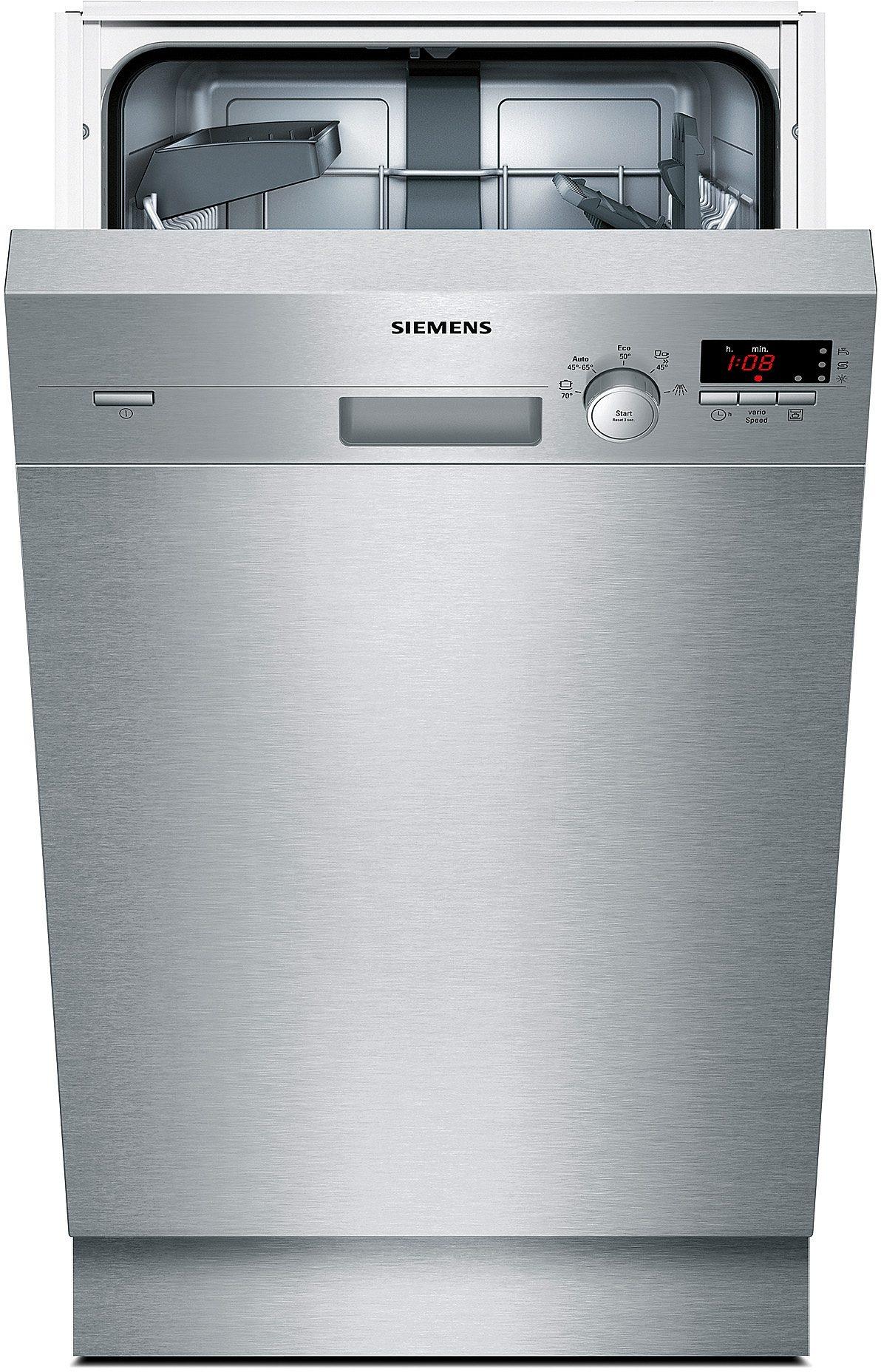 Siemens Unterbau-Geschirrspüler SR45E507EU, Energieklasse A+, 9,5 Liter, 9Maßgedecke