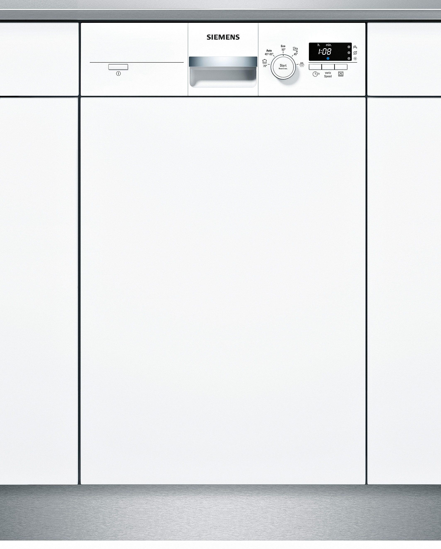 Siemens integrierbarer Einbau-Geschirrspüler SR55E207EU, Energieklasse A+, 9,5 Liter, 9 Maßgedecke