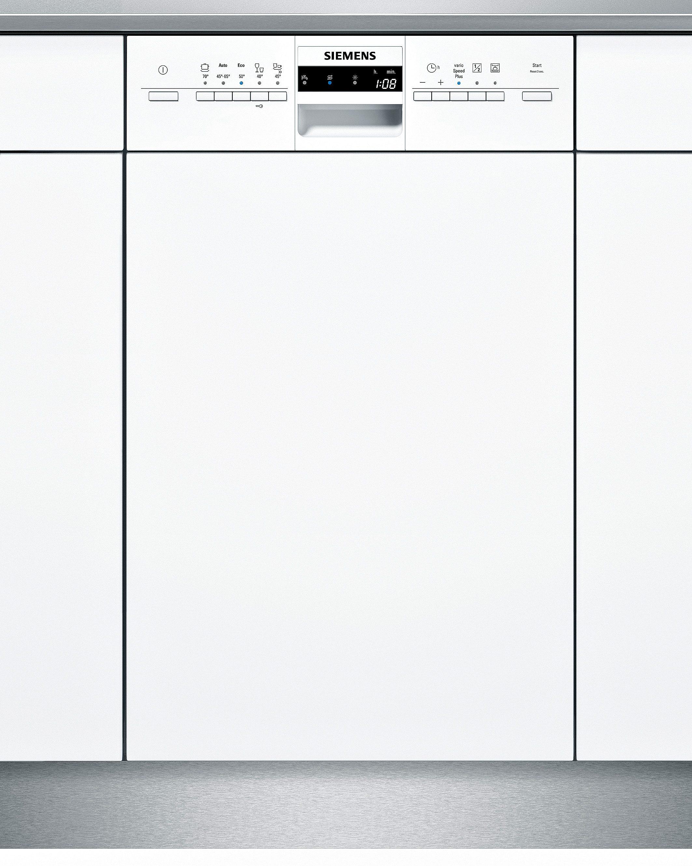 Siemens integrierbarer Einbaugeschirrspüler SR55M286EU, Energieklasse A+, 9,5 Liter, 10 Maßgedecke