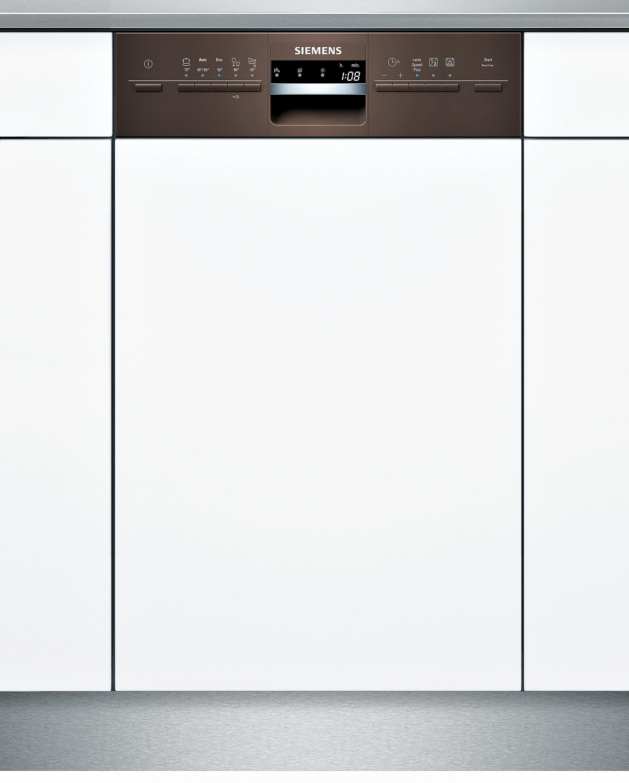 Siemens integrierbarer Einbaugeschirrspüler SR55M486EU, Energieklasse A+, 9,5 Liter, 10 Maßgedecke