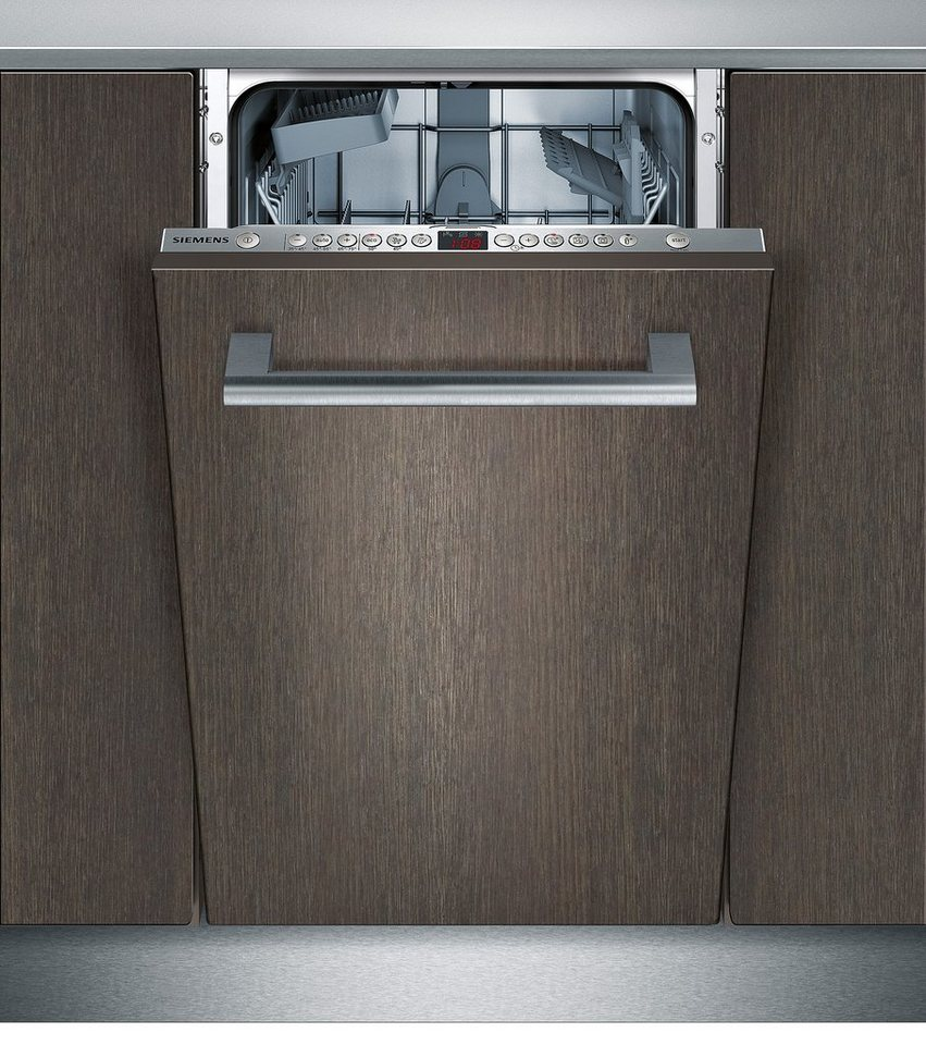 Siemens vollintegrierbarer Einbau-Geschirrspüler SR66T057EU, Energieklasse A++, 8,5 Liter