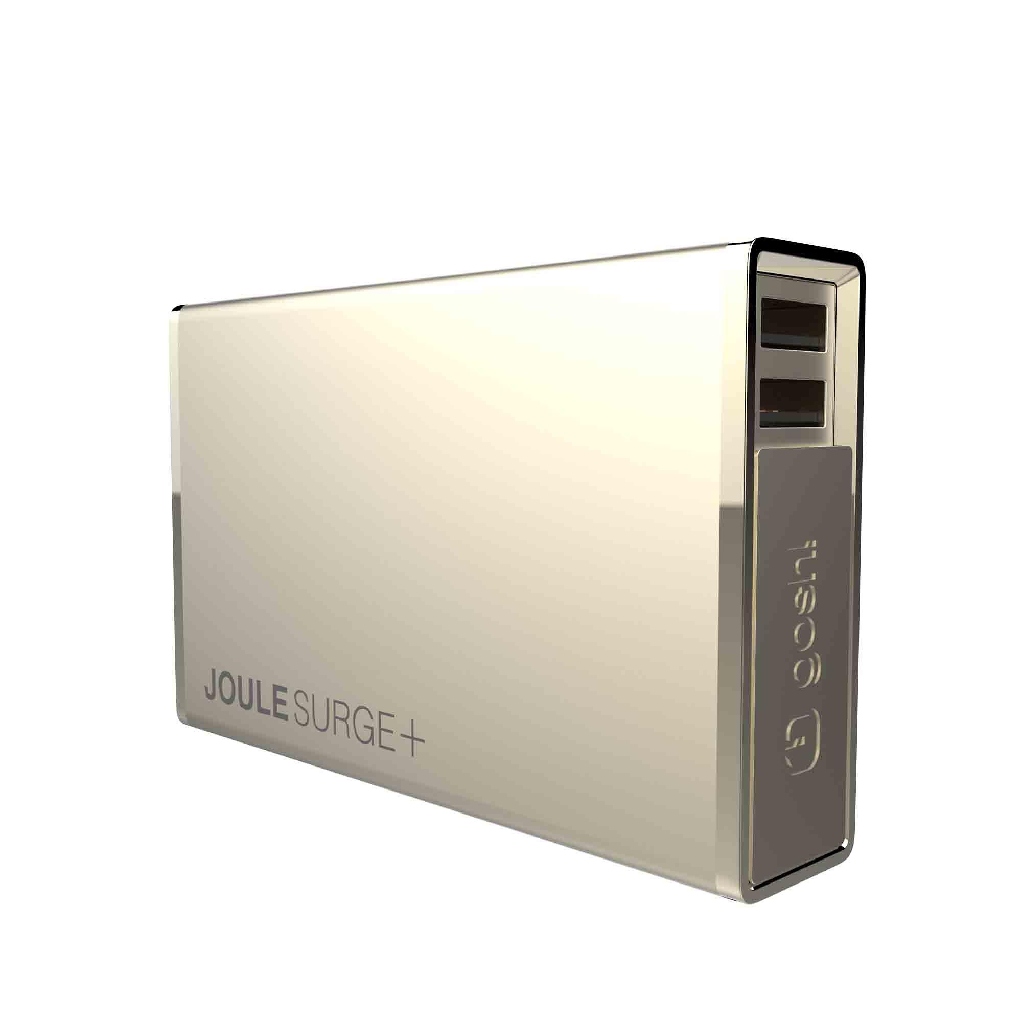 GOSH Premium Powerbank »JouleSurge+ 12000 mAh Gold«
