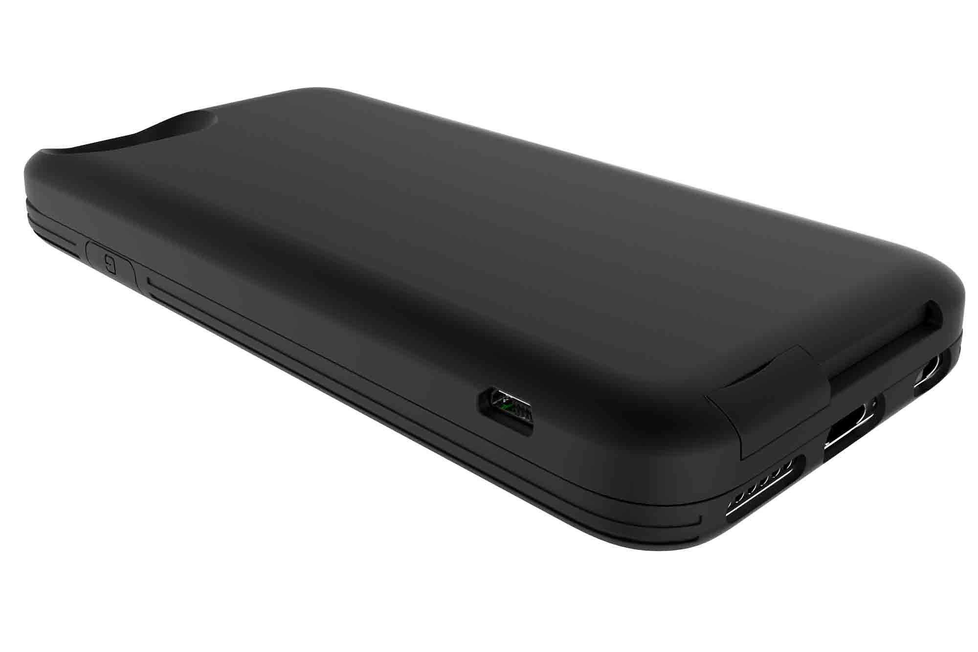 GOSH Schutzhülle mit Akku »Parallel 2 2900 mAh iPhone 6 Schwarz/Schwarz«