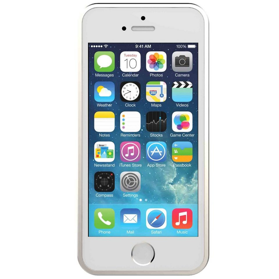 GOSH Schutzhülle »13th Element Alu Bumper iPhone 5/5S Gold«