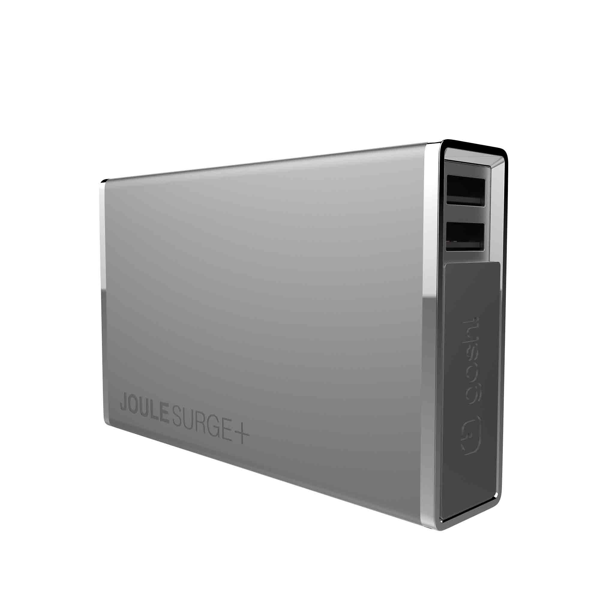 GOSH Premium Powerbank »JouleSurge+ 12000 mAh Grau«