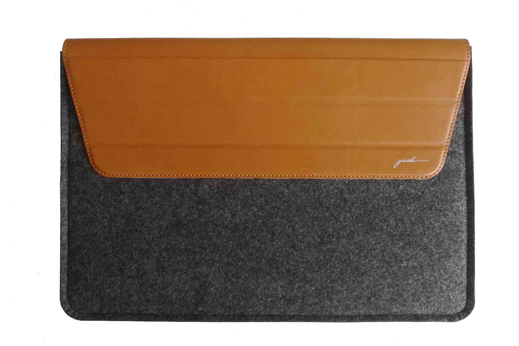 """GOSH Schutzhülle »FlipSleeve mit Ständer MacBook Pro 38,1cm 15"""" Grau«"""