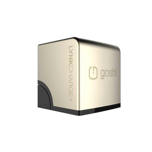 GOSH AC Netzteil »LynkCharge+ 2xUSB EU Gold«