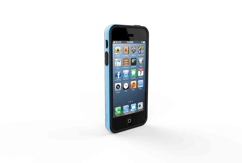 GOSH Schutzhülle »Cross iPhone 5/5S Blau«