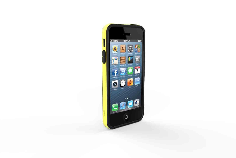 GOSH Schutzhülle »Cross iPhone 5/5S Gelb«