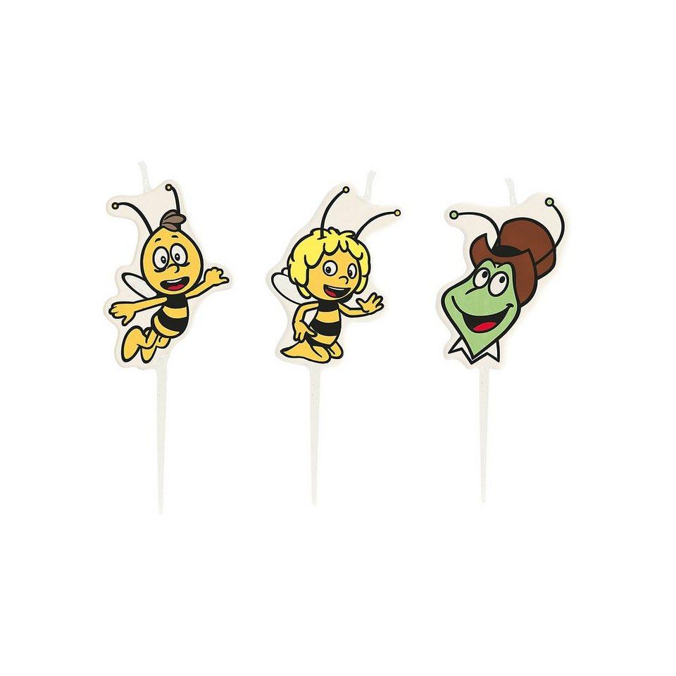 Amscan Mini Kerzen Biene Maja in bunt