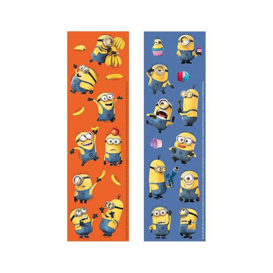 Amscan Stickerset Minions in gelb