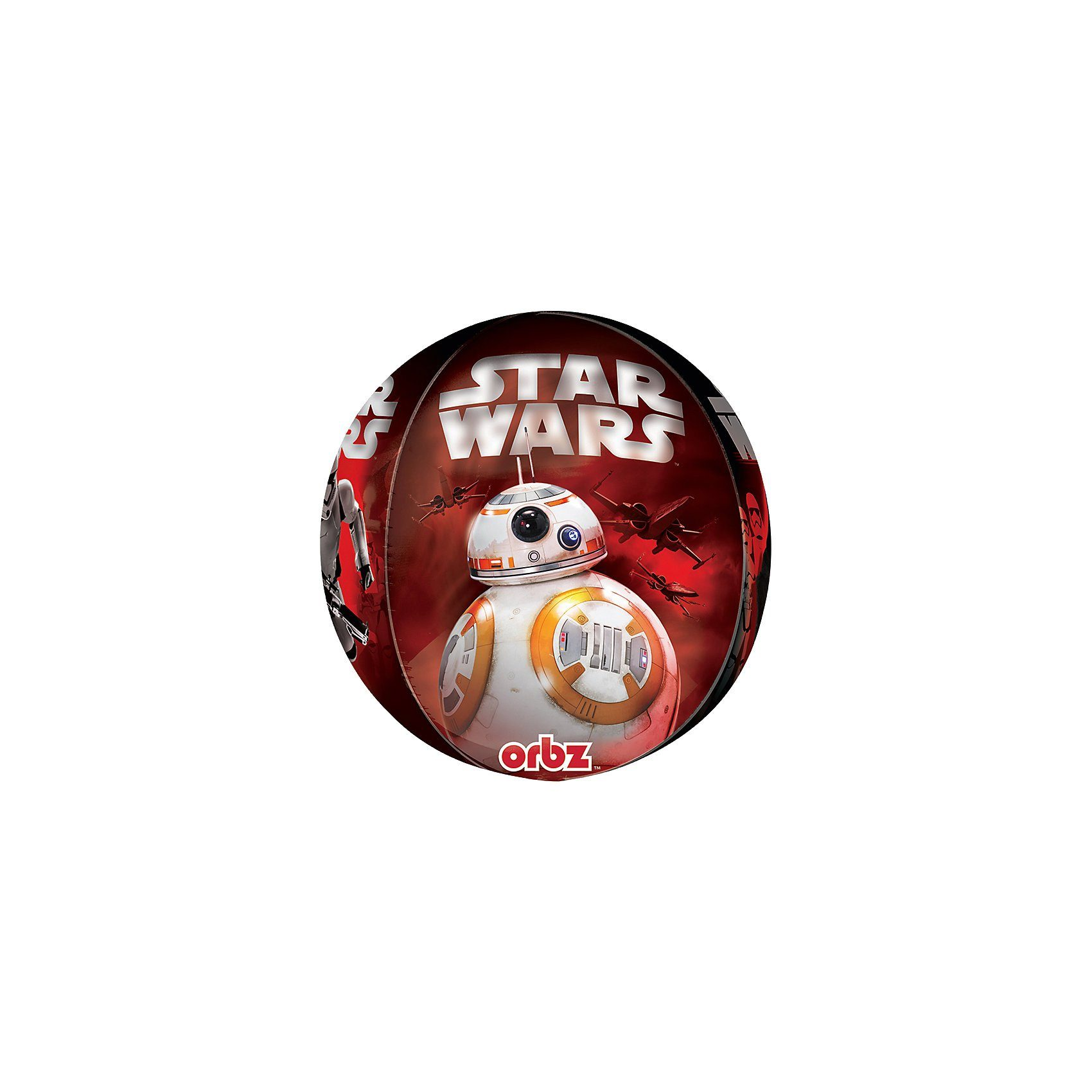 Amscan Folienballon Orbz Star Wars The Force Awakens