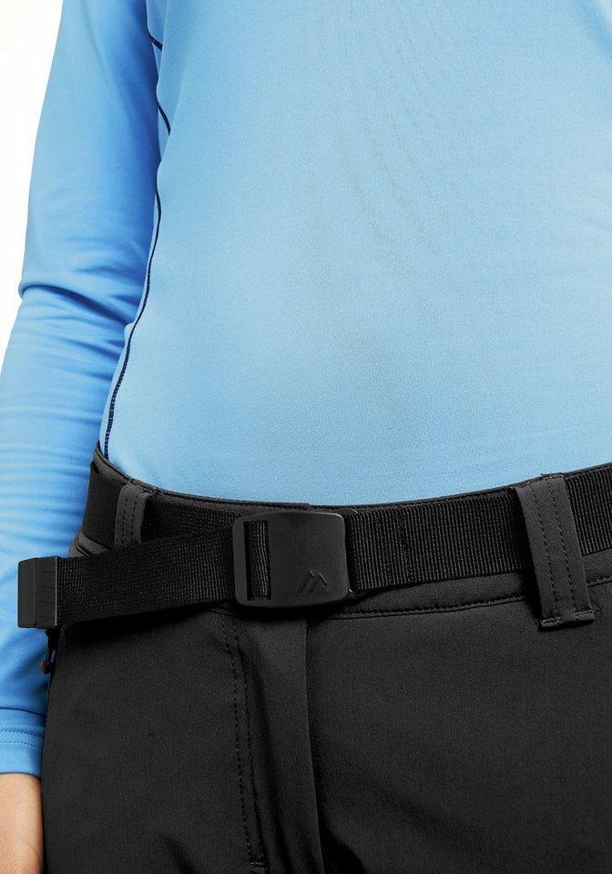 Maier Sports Outdoorhose »Rechberg Pant Women« in schwarz