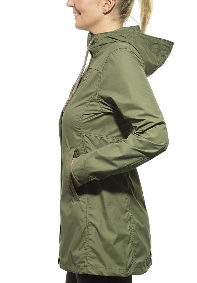Tatonka Outdoorjacke »Bandra Coat Women« in grün