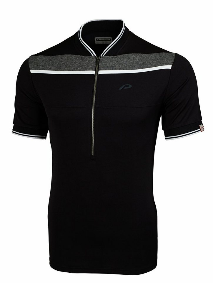 Protective Radtrikot »Flinton Shirt Men« in schwarz