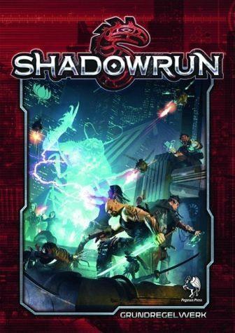 Broschiertes Buch »Shadowrun Regelbuch, 5. Edition (Softcover)«