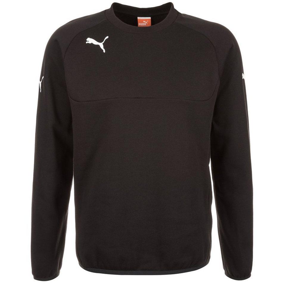 PUMA Leisure Sweatshirt Herren in schwarz / weiß