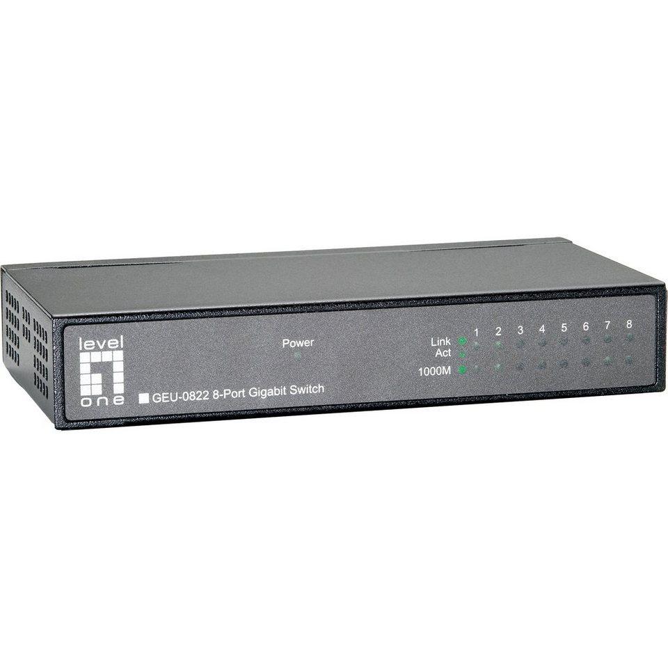 LevelOne Switch »GEU-0822 1000/UNM/ 8«