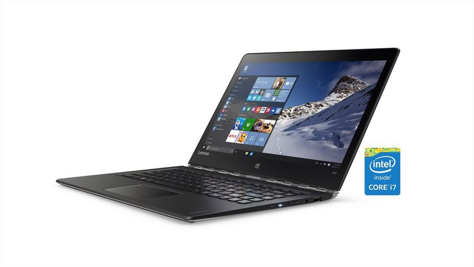 "LENOVO Yoga 900-13ISK Convertible »Intel Core i7, 33,8cm (13,3""), 256 GB SSD, 8 GB« in silber"