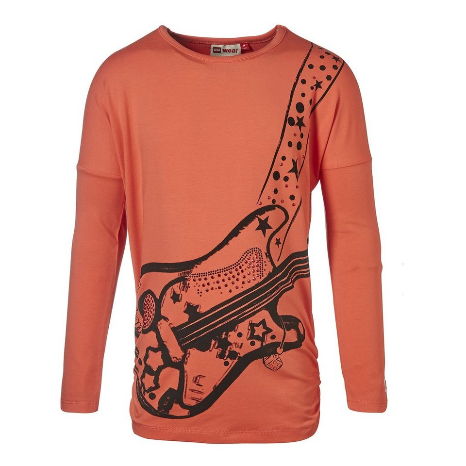"LEGO Wear Friends Langarm-T-Shirt Tamara ""Musik"" langarm Shirt in orange"