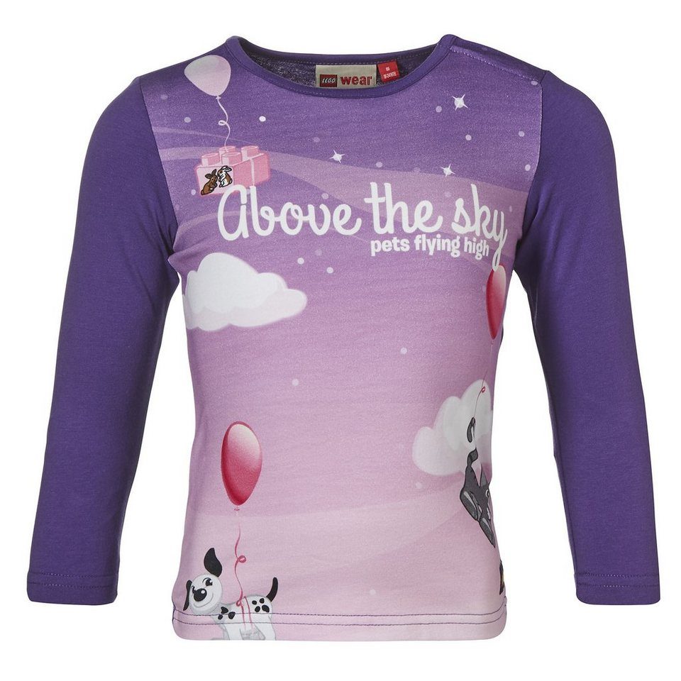 "LEGO Wear Duplo Langarm-T-Shirt ""Above the Sky"" Shirt Tiff in violett"