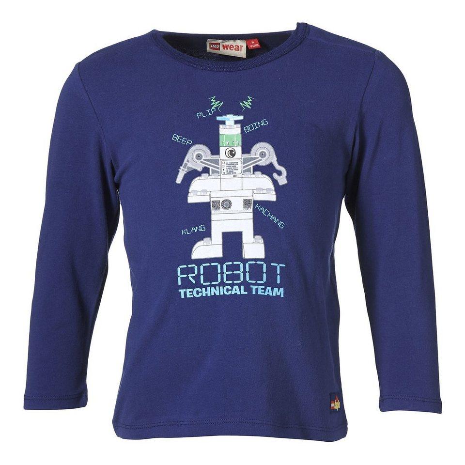 "LEGO Wear Duplo Langarm-T-Shirt Trey ""ROBOT Technical Team"" in dunkelblau"