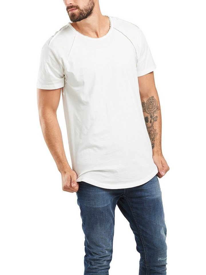 ONLY & SONS Einfarbiges T-Shirt in Star White